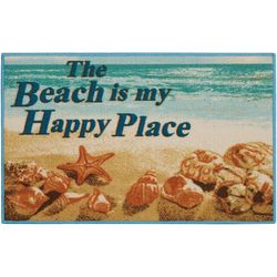 Nourison The Beach Is My Happy Place Accent Rug
