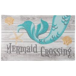 Nourison Enhance Mermaid Crossing Accent Rug