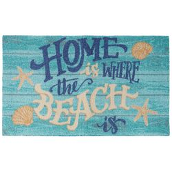 Nourison Enhance Home Is Where The Beach Is Accent Rug