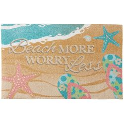 Nourison Enhance Beach More Worry Less Accent Rug
