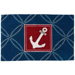Nourison Enhance Anchor Accent Rug