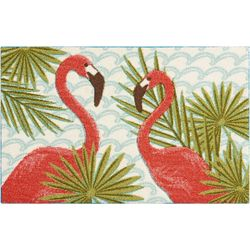 Nourison Double Flamingo Palms Accent Rug