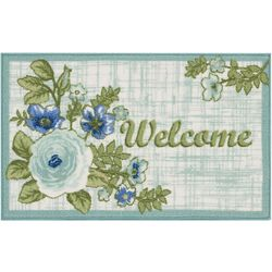 Nourison Welcome Flower Accent Rug
