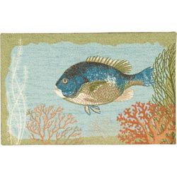 Nourison Fish Accent Rug