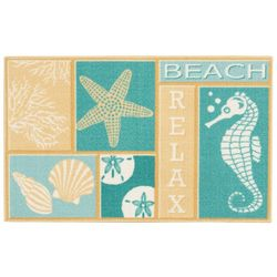 Essential Elements Beach Relax Accent Rug