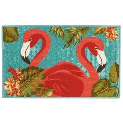 Essential Elements Flamingo Duo Accent Rug