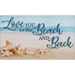 Nourison Love You To The Beach Accent Rug