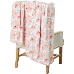 Northpoint Trading Etymology Floral Velvet Throw