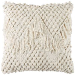 Foreside Emma Woven Decorative Pillow