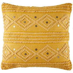 Foreside Raine Woven Decorative Pillow