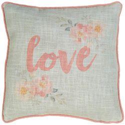 Jordan Manufacturing Love Decorative Pillow