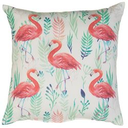Jordan Manufacturing Flamingo Decorative Pillow