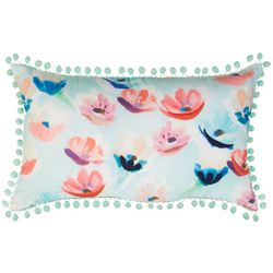 Jordan Manufacturing Spring Flowers Decorative Pillow