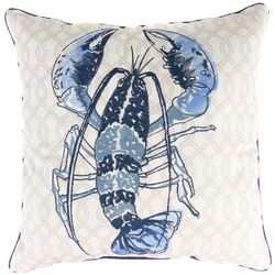 Jordan Manufacturing Blue Lobster Decorative Pillow