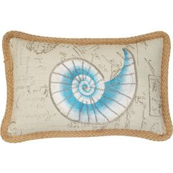 Jordan Manufacturing Sea Shell Decorative Pillow