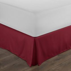 Home Collections Premium Pleated Dust Ruffle Bed Skirt