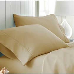 Home Collections Premium Ultra Soft Solid Pillow Case Set