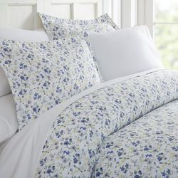 Home Collections Premium Ultra Soft Blossoms Duvet Cover Set