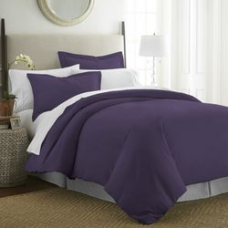 Home Collections Premium Ultra Soft Solid Duvet Cover Set