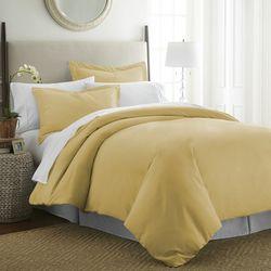 Premium Ultra Soft Solid Duvet Cover Set