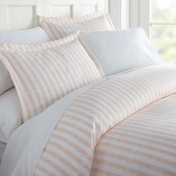 Premium Soft Rugged Stripes Duvet Cover Set