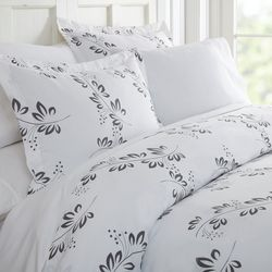 Home Collections Premium Soft Simple Vines Duvet Cover Set