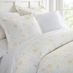 Home Collections Premium Soft Spring Vines Duvet Cover Set