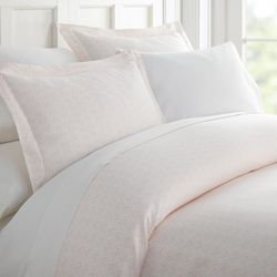 Home Collections Premium Classic In Pink Duvet Cover Set