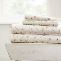 Home Collections Premium Ultra Soft Floral Sheet Set