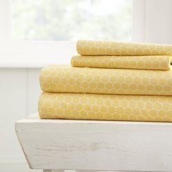 Home Collections Premium Ultra Soft Honeycomb Sheet Set