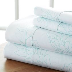 Home Collections Premium Ultra Soft Vine Sheet Set