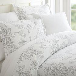 Home Collections Premium Ultra Soft Vine Duvet Cover Set