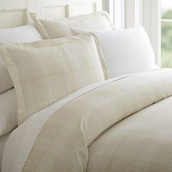 Home Collections Premium Ultra Soft Thatch Duvet Cover Set