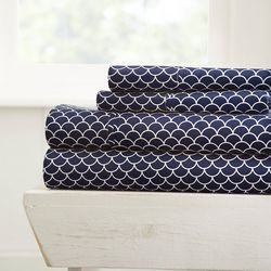 Home Collections Premium Ultra Soft Scallops Sheet Set