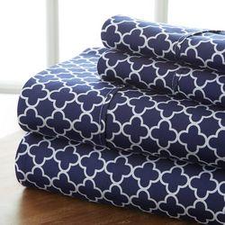 Home Collections Premium Ultra Soft Quadrafoil Sheet Set