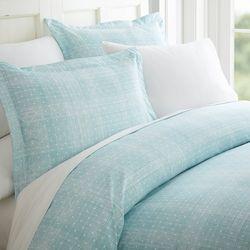 Home Collections Premium Soft Polka Dot Duvet Cover Set