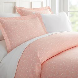 Home Collections Premium Soft Pink Buds Duvet Cover Set