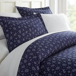 Home Collections Premium Midnight Blossoms Duvet Cover Set
