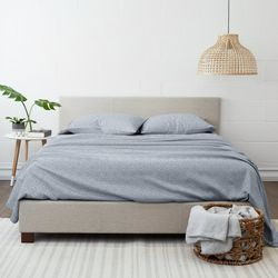 Home Collections Premium 4 Pc Ultra Soft Chambray Sheet Set