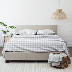 Home Collections Premium Ultra Soft Country Plaid Sheet Set