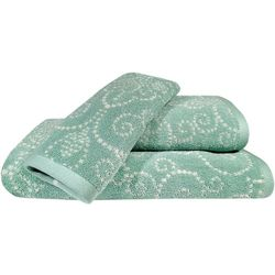 Lenox French Perle Groove Bath Towel Collection