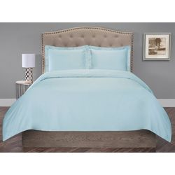 Elite Home Organic Cotton Duvet Cover Set