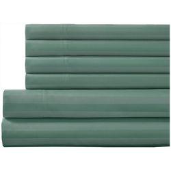 Elite Home Delray Cotton Rich Stripe Bonus Sheet Set