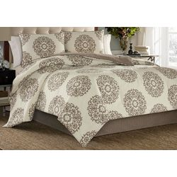 Stone Cottage Medallion 4-pc. Duvet Cover Set