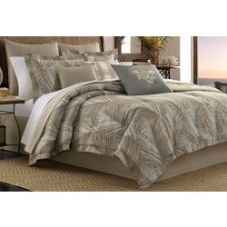 Raffia Palms 3-pc. Duvet Cover Set