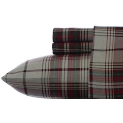 Eddie Bauer Montlake Plaid Flannel King Sheet Set