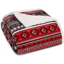 Eddie Bauer Classic Fair Isle Sherpa Blanket