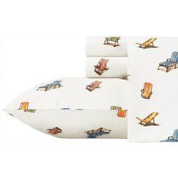 Tommy Bahama Beach Chairs Sheet Set