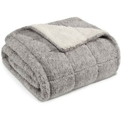 Eddie Bauer Sumac Ridge Sherpa Throw Blanket