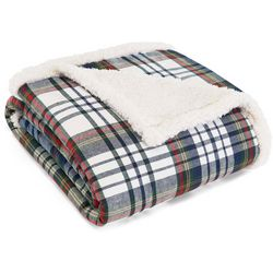 Eddie Bauer Anderson Plaid Cadet Throw Pillow